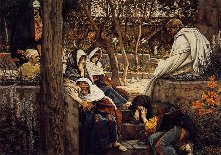Jesus at Bethany, 1886 - 1894 - James Tissot