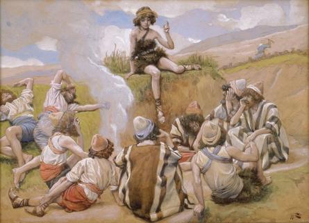 Joseph Reveals His Dream to His Brethren, c.1896 - c.1902 - James Tissot