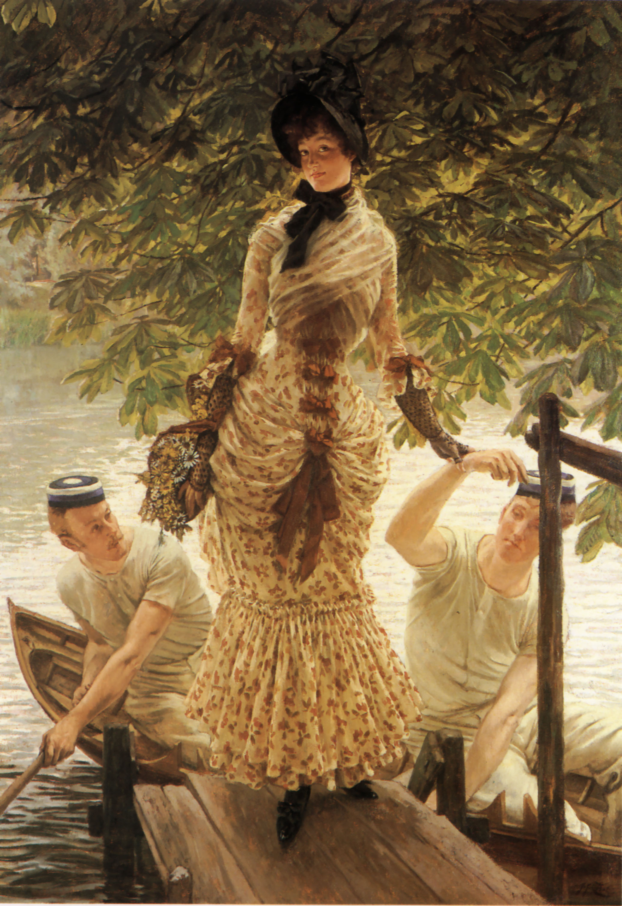 James Tissot  - Page 3 On-the-thames