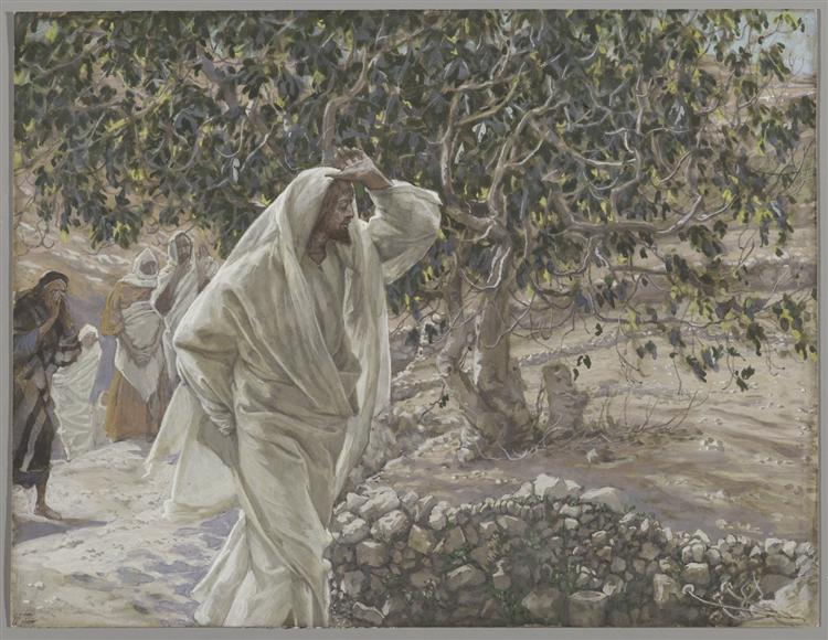 The Accursed Fig Tree - James Tissot