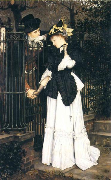 The Farewell, 1871 - James Tissot