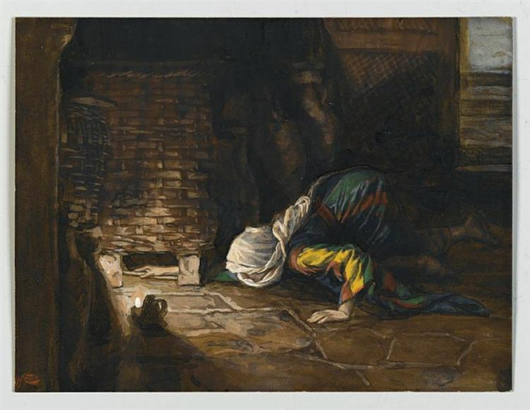 The Lost Drachma, 1886 - 1894 - James Tissot