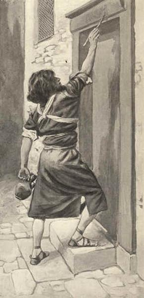 The Signs on the Door - James Tissot