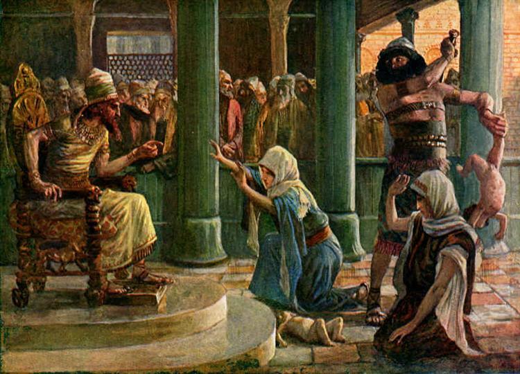 The Wisdom of Solomon - James Tissot