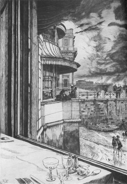 Trafalgar Tavern, 1878 - James Tissot