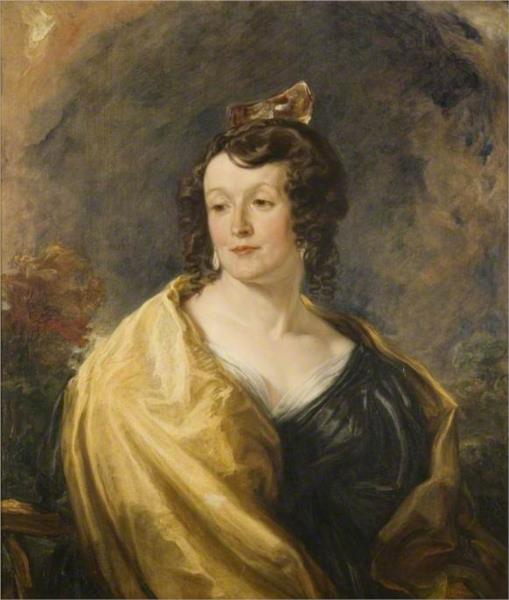 Mrs William Theobald, née Sarah Cooke, 1832 - James Ward