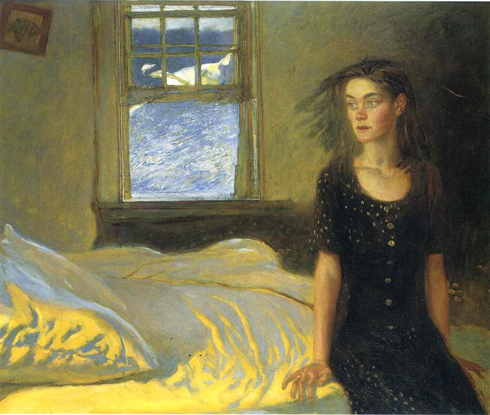 If Once You Have Slept on an Island, 1996 - Jamie Wyeth