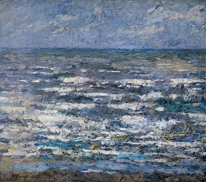 The Sea at Katwijk, 1887 - Jan Toorop