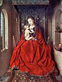The Lucca Madonna - Jan van Eyck