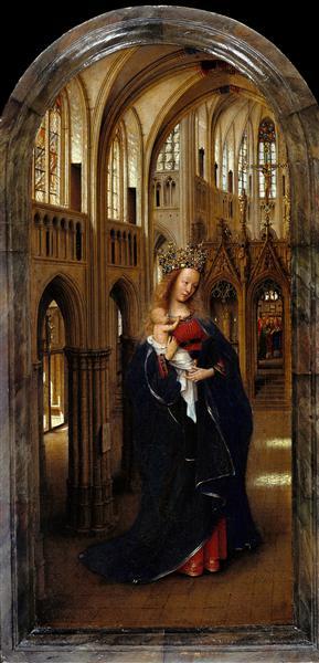 The Madonna in the Church, 1437 - 1439 - Jan van Eyck