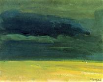 Clouding over the Great Hungarian Plain - Janos Tornyai