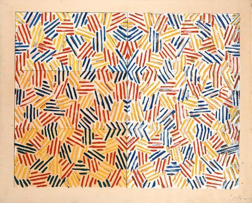 Corpse and Mirror, 1969 - Jasper Johns