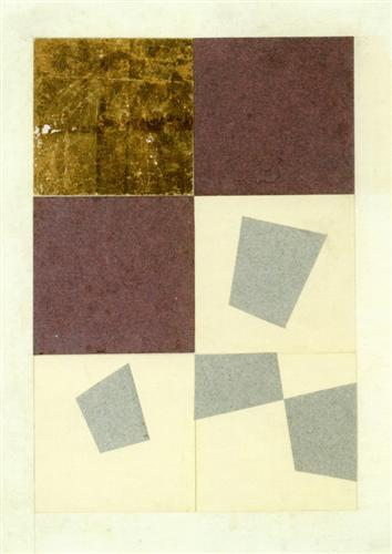 Geometric Collage - Jean Arp