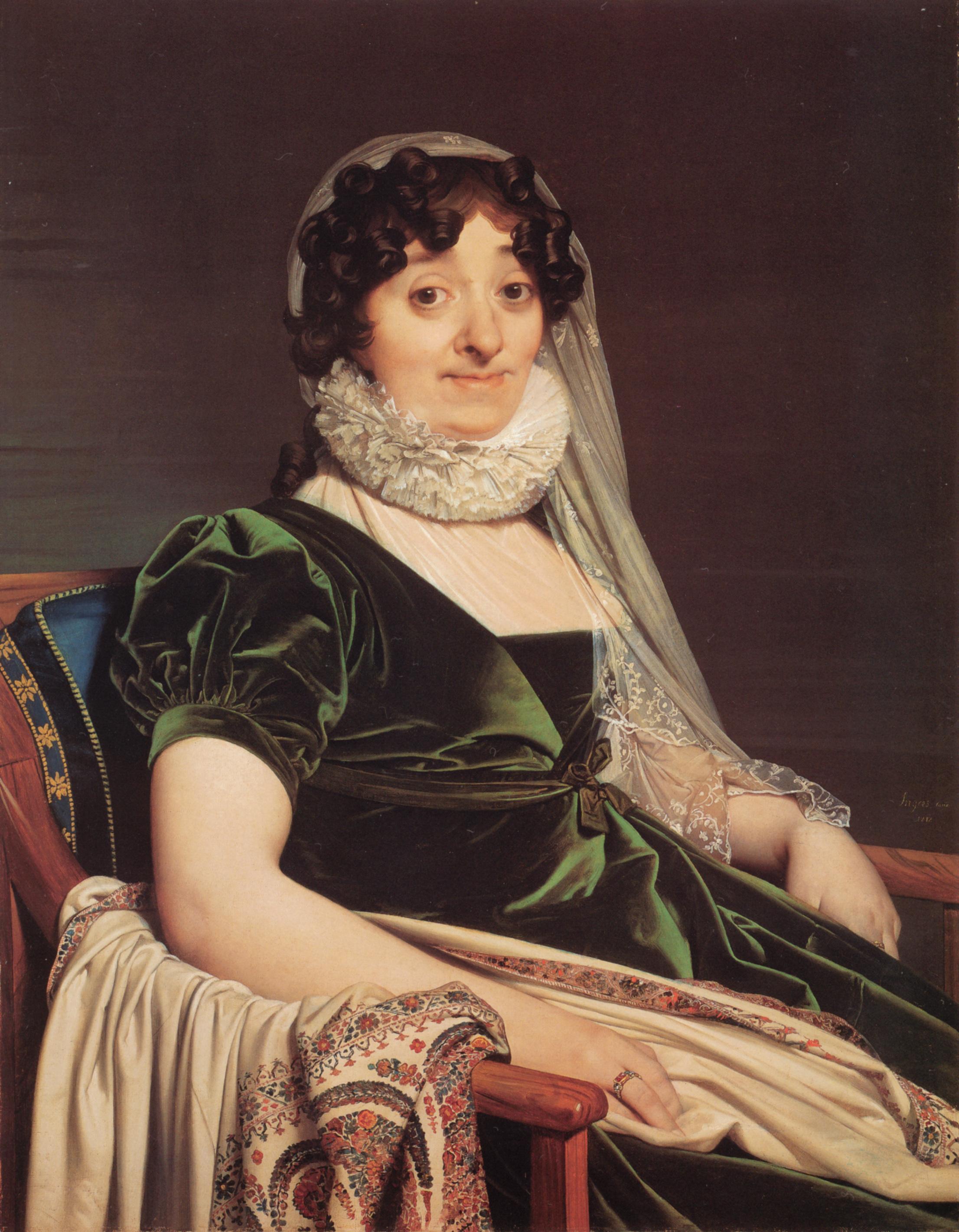 Comtes de Tournon, née Geneviève de Seytres Caumont, 1812