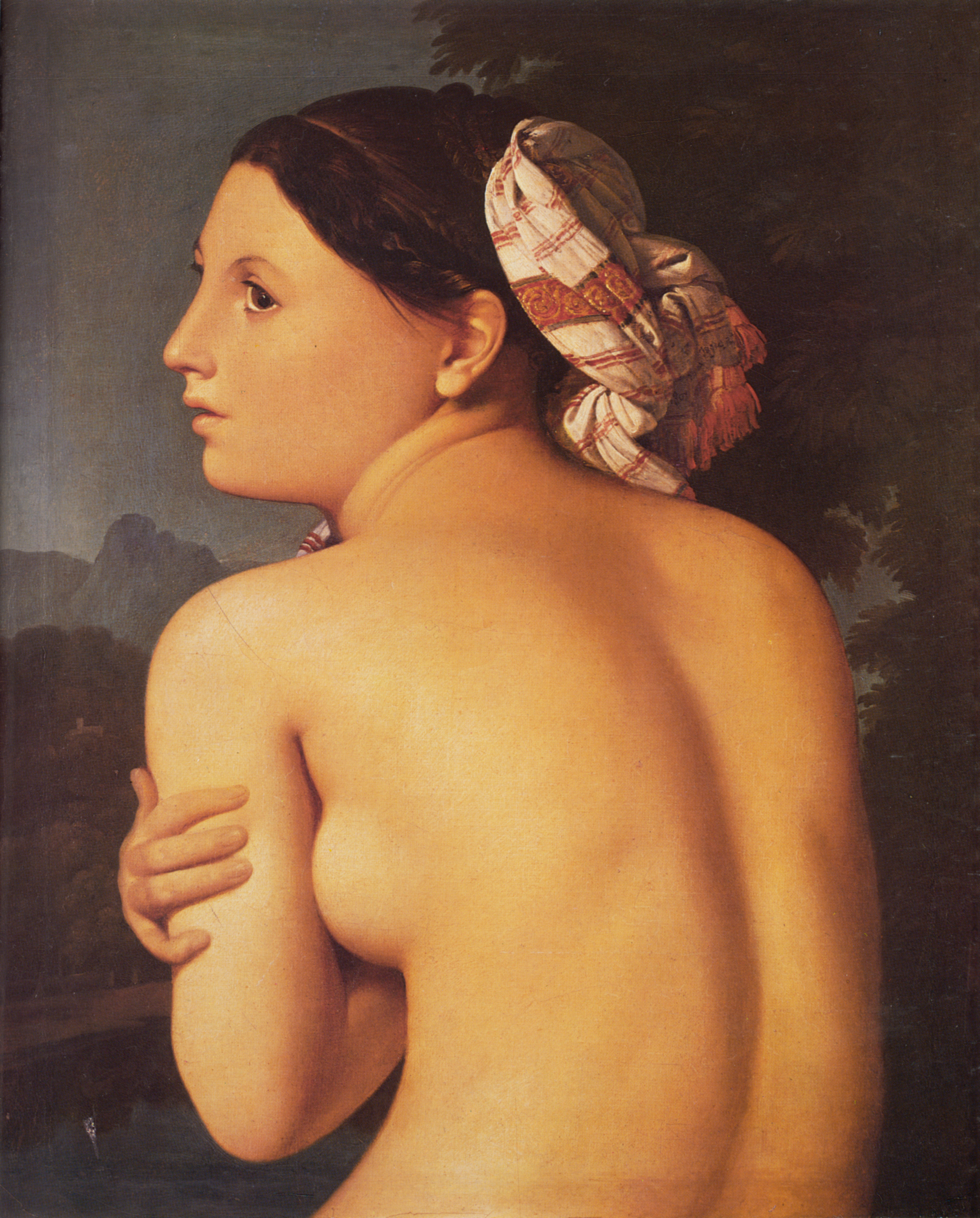 Half-figure of a Bather, 1807