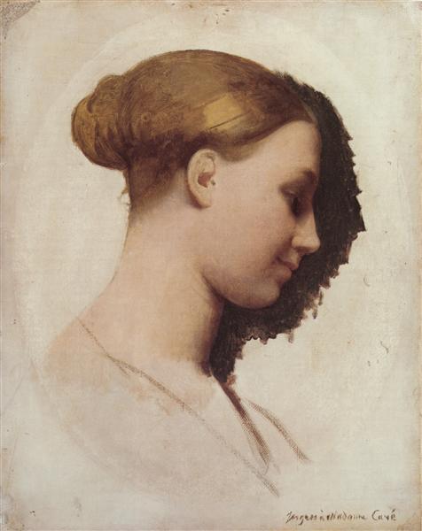 Madame Clément Boulanger, née Marie-Élizabeth Blavot, later Madame Edmond Cavé, 1830 - Jean Auguste Dominique Ingres
