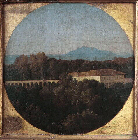 Orangery Villa Borghese, 1806 - Jean Auguste Dominique Ingres