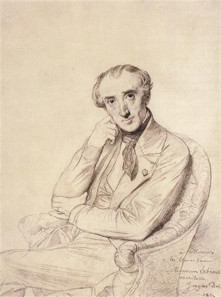 Pierre François Henri Labrouste - Jean Auguste Dominique Ingres