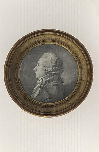 Portrait of an unknown, since the bust, left profile, 1797