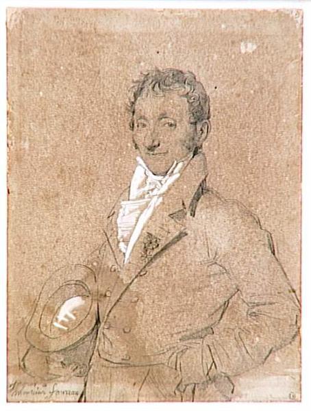 Portrait of Mr. Foureau - Jean Auguste Dominique Ingres