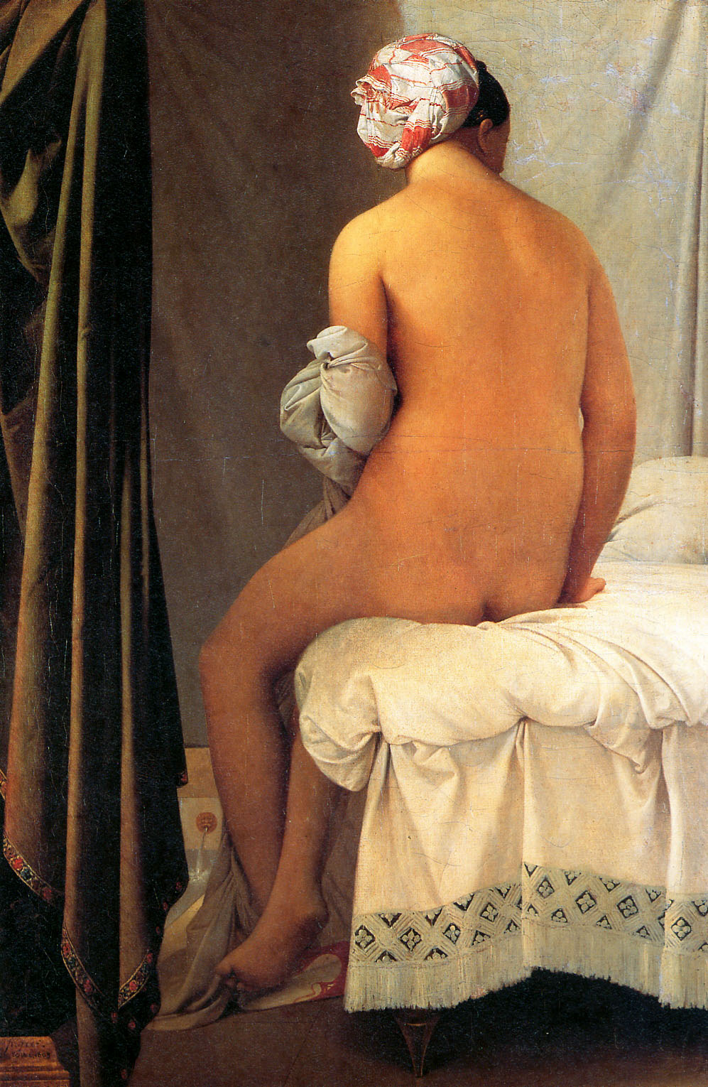 The Bather of Valpinçon, 1808