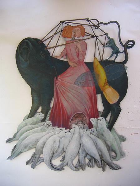 Les demoiselles, 2008 - Jean-Claude Silbermann