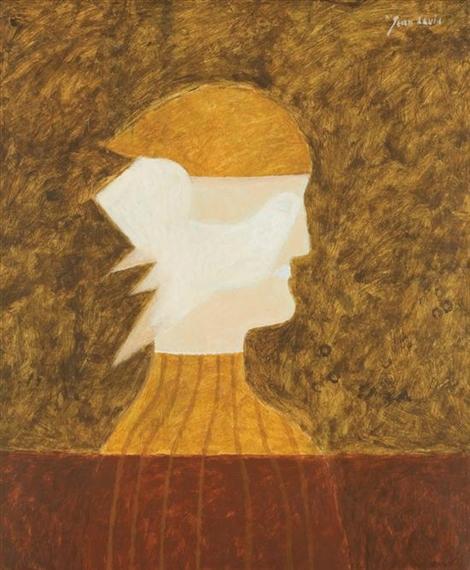 Figure and Bird - Jean David