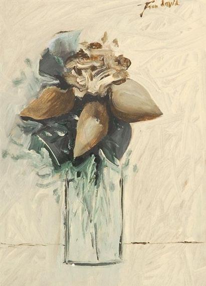 Vase of Flowers - Jean David