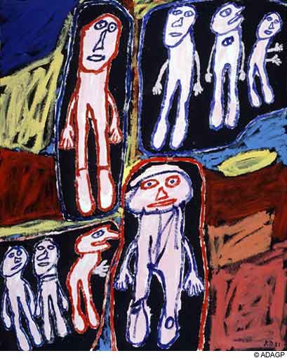 Site visited, 1981 - Жан Дюбюффе