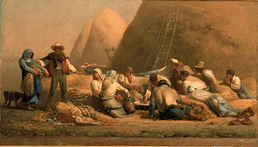 Harvesters Resting, 1850 - 1853 - Jean-François Millet