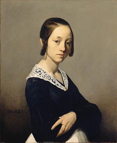 Louise-Antoinette Feuardent, 1841 - Jean-Francois Millet