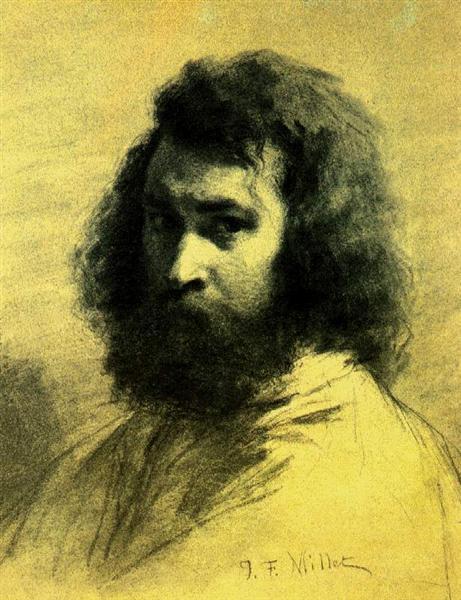 Self-Portrait - Jean-Francois Millet