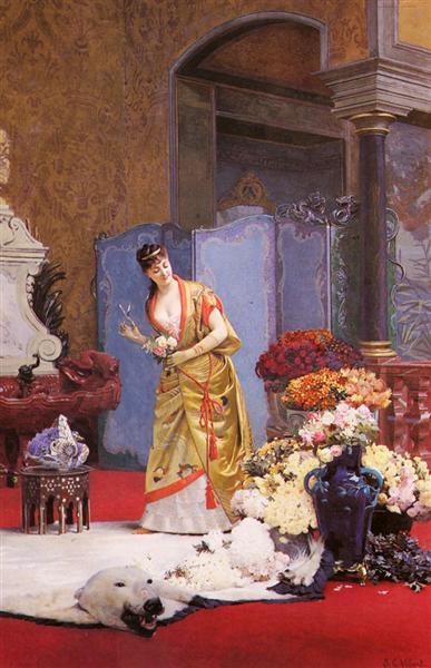 Autumn Flowers - Jehan Georges Vibert