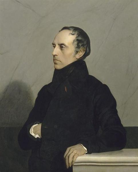 Francois Guizot (after a painting by Paul Delaroche) - Жан Жорж Вибер
