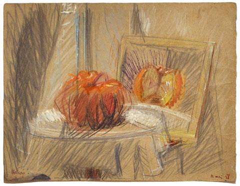 La Citrouille et son reflet, 1958 - Jean Helion