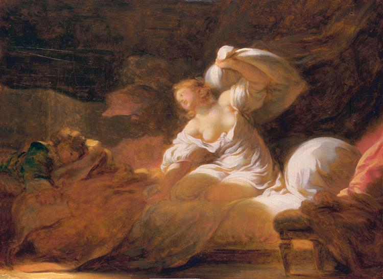 The fight unnecessary - Jean-Honore Fragonard
