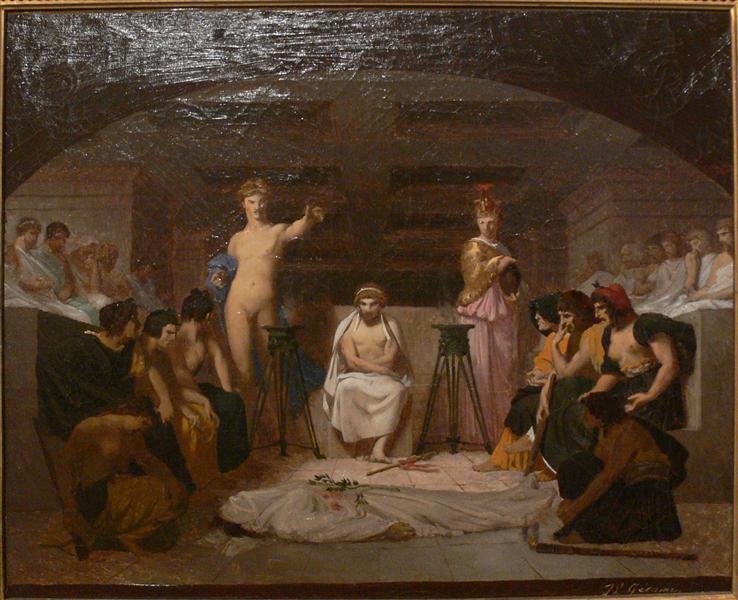 Funeral Wake, 1845 - 1855 - Jean-Leon Gerome