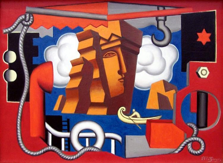 Composition allégorique, 1929 - Jean Metzinger