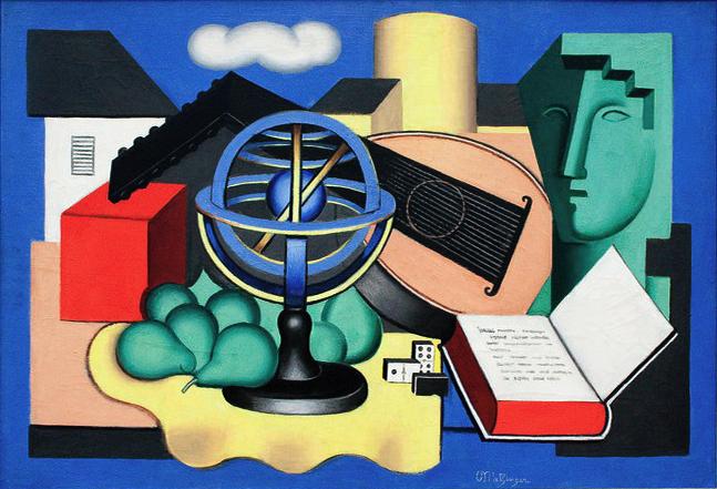 Globe and Banjo, 1930 - Jean Metzinger