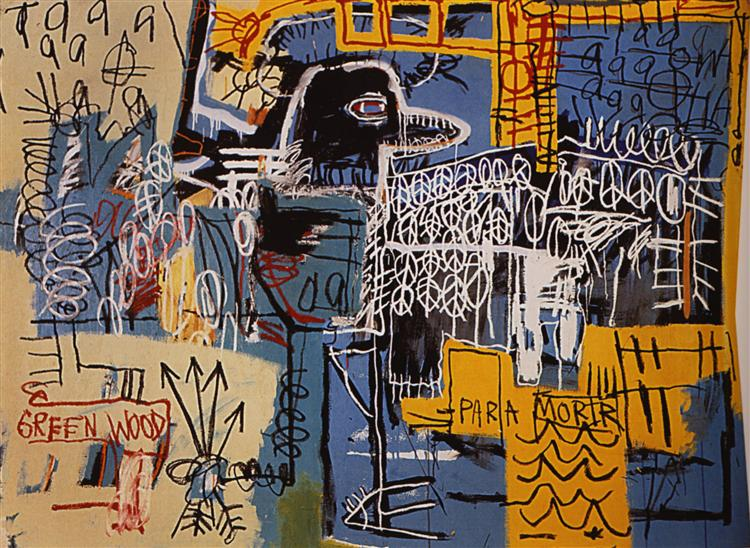 Bird on Money, 1981 - Jean-Michel Basquiat