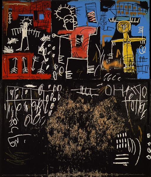 Black Tar and Feathers, 1982 - Jean-Michel Basquiat