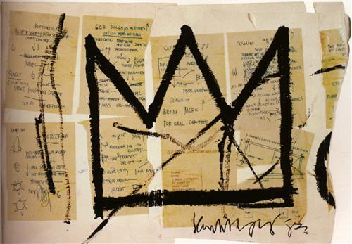 Crown - Jean-Michel Basquiat