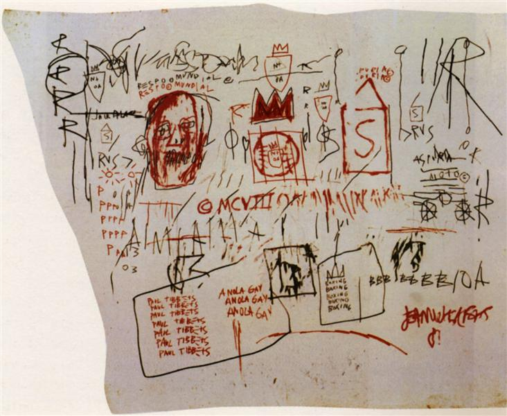 Gringo Pilot (Anola Gay), 1981 - Jean-Michel Basquiat