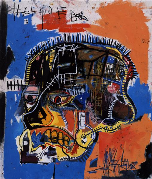 Scull, 1981 - Jean-Michel Basquiat