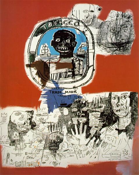 Logo, 1984 - Jean-Michel Basquiat