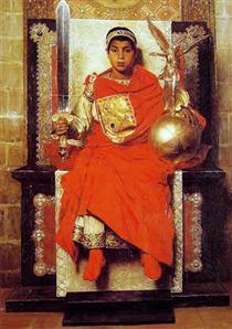 The Byzantine Emperor Honorius - Jean-Paul Laurens