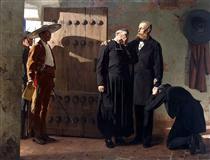 The Last moments of Maximilian, Emperor of Mexico - Jean-Paul Laurens