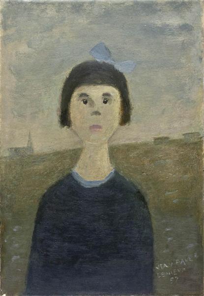 L'Orpheline, 1957 - Jean Paul Lemieux