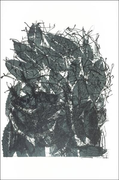Leaves I, 1967 - Jean-Paul Riopelle