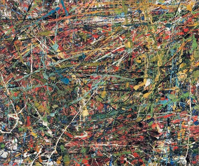 Untitled (Composition) - Jean-Paul Riopelle